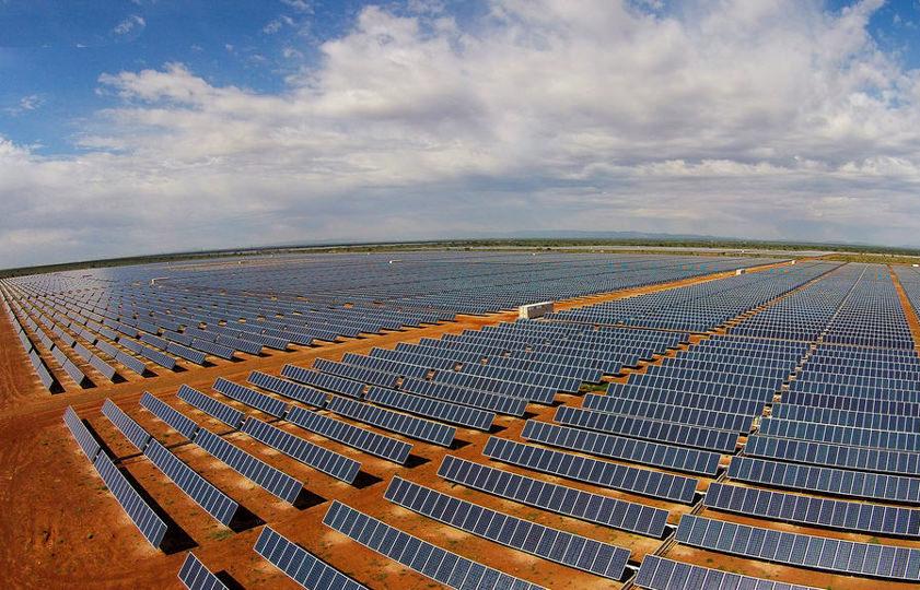 Parque fotovoltaico de Sishen