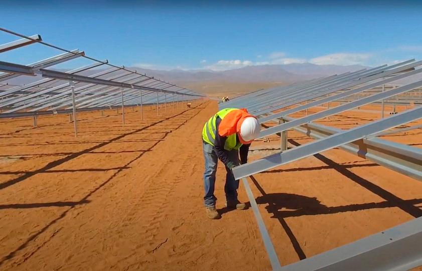Planta fotovoltaica El romero en Chile